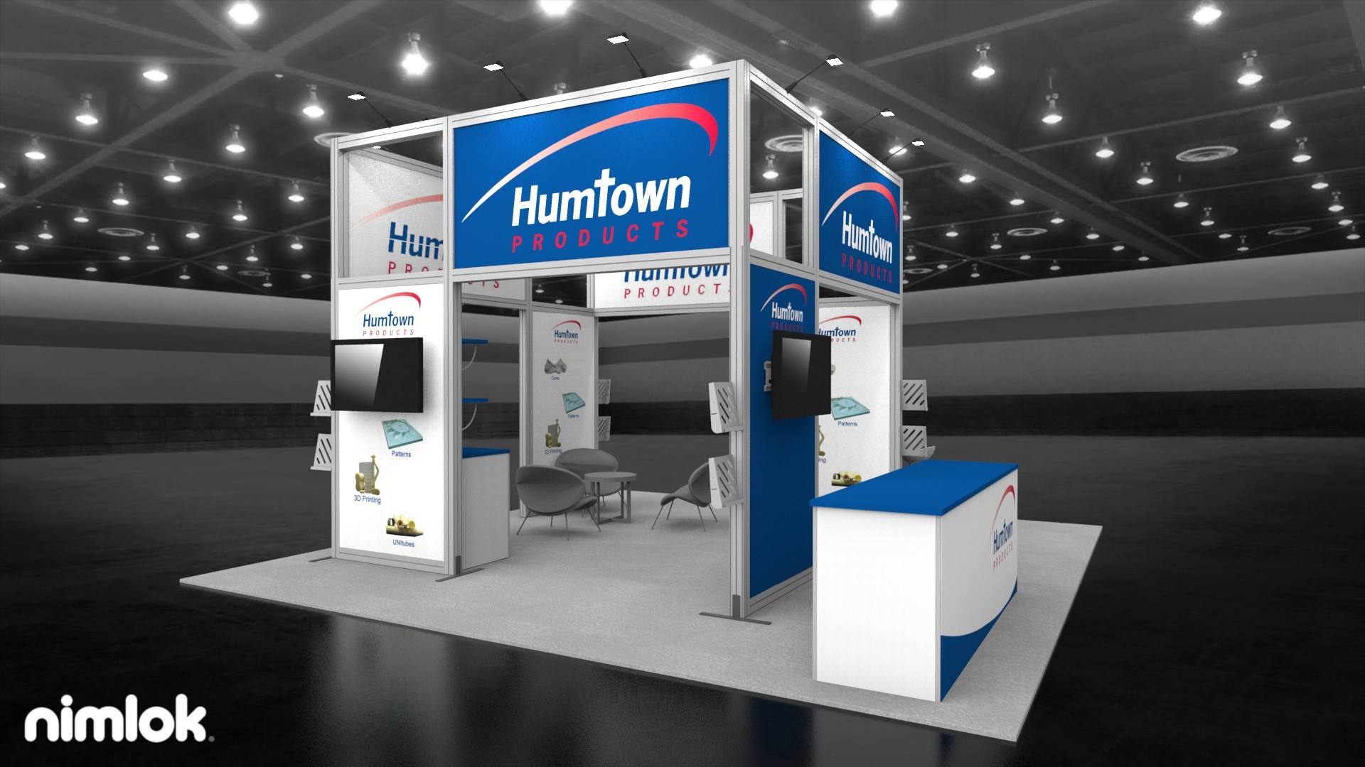 Humtown Products 20x20 Island