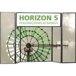 Horizon 5 Tabletop Folding Panel Display