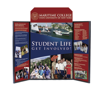 Voyager Mega Folding Panel Display